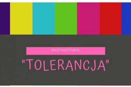 o tolerancji słów parę…